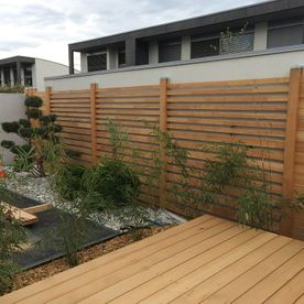 Wooden screens and trellises - AB Jardin Sarl